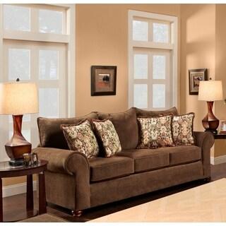 Sofa Trendz Badgley Brown Sofa