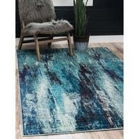 Unique Loom Iris Barcelona Area Rug - 5' 0 x 8' 0