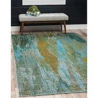 Unique Loom Lilly Jardin Rug - 5' x 8'