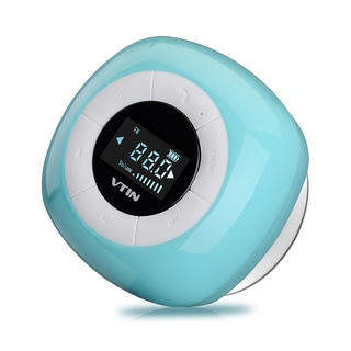 Bluetooth Wireless Waterproof Suction Shower Speaker with LCD Screen and Built-in Microphone