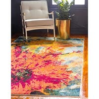 Unique Loom Palau Barcelona Area Rug - 5' 0 x 8' 0