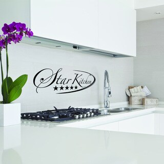 Star Kitchen Quote Sticker Wall Decal