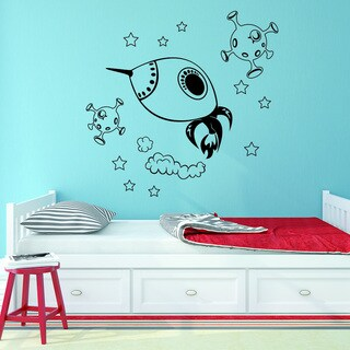 Style and Apply Space Explorer Vinyl Wall Art