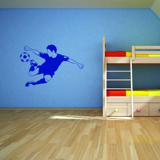 Style and Apply Soccer Star Vinyl Wall Decal