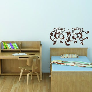 Style & Apply Silly Monkeys Vinyl Wall Decal
