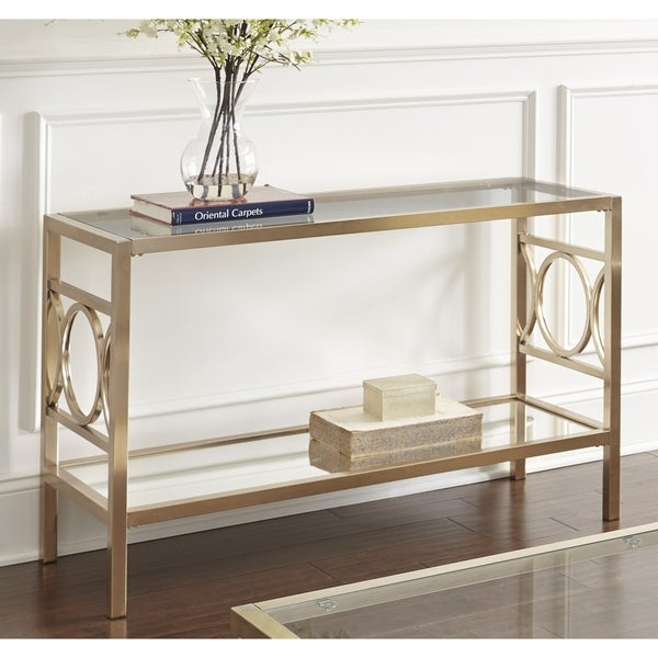 shop greyson living oria sofa table on sale free shipping today rh overstock com Convertible Dining Room Table Overstock Table by Overstock