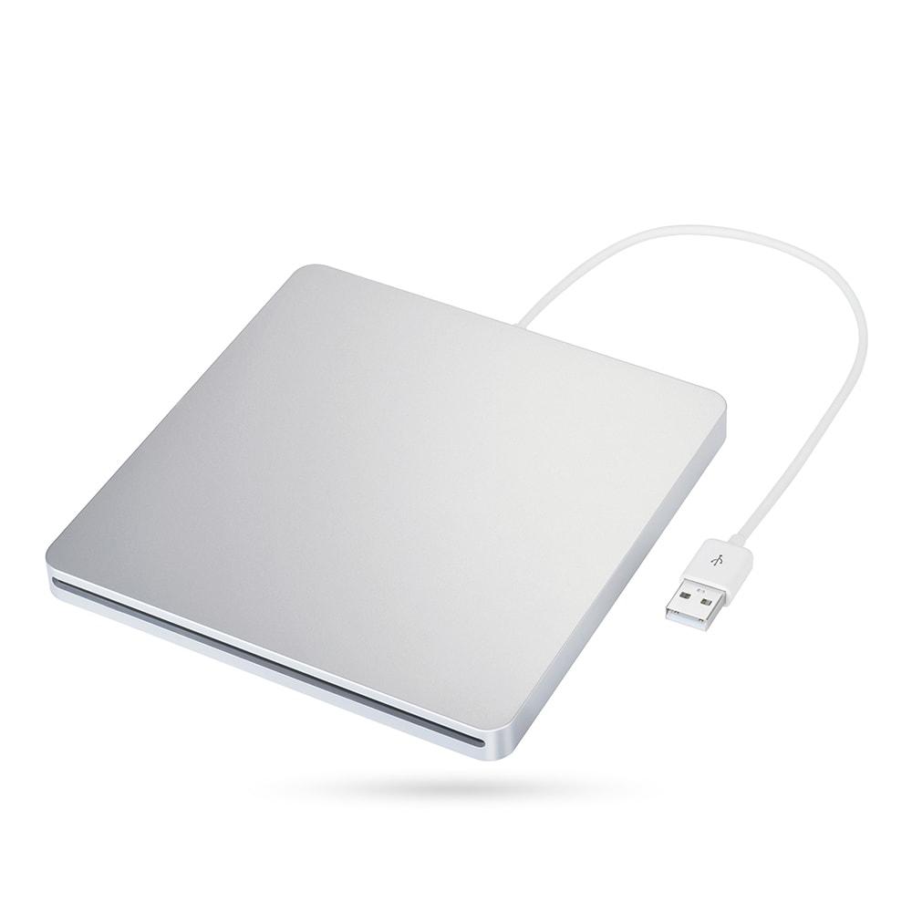 Coutlet Ultra Slim USB External Slot Drive Burner for App...