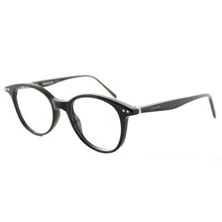 Celine CL 41407 807 Havana 47-millimeter Plastic Square Eyeglasses