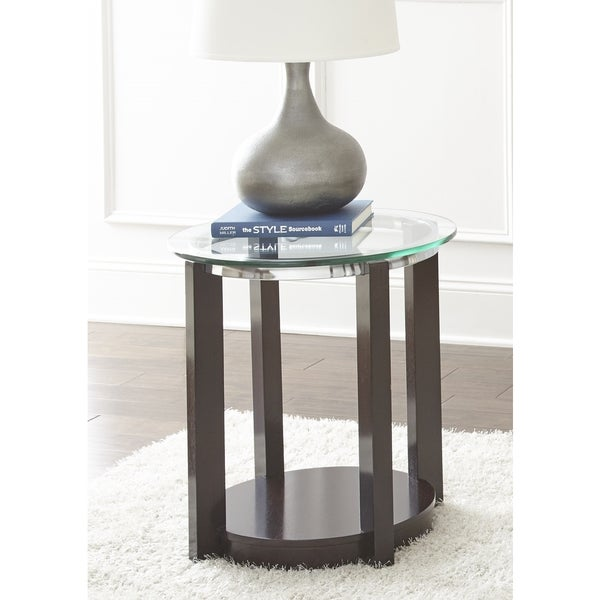 Crawley Round End Table  by Greyson Living