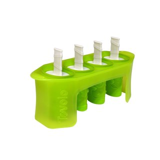 Tovolo White Tiki Pop Molds (Pack of 4)
