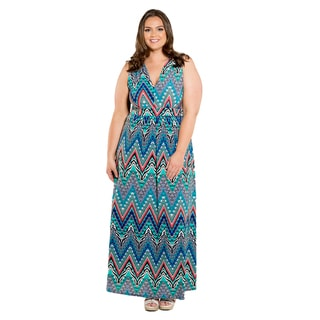 Sealed with a Kiss Women's Plus Size Mindy Maxi Dress