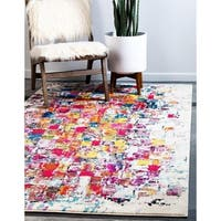 Unique Loom Mila Barcelona Area Rug - 3' 3 x 5' 3