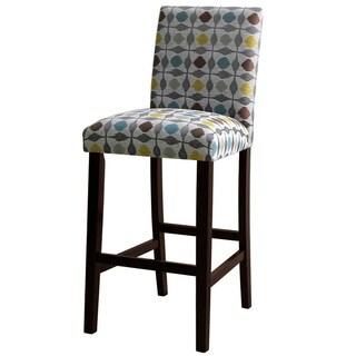 Skyline Furniture Uptown Pouf Graphite Barstool