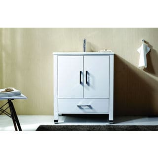 KubeBath Anziano 30-inch Single Sink Bathroom Vanity