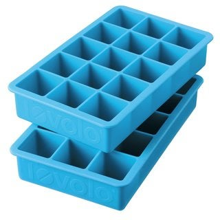 Tovolo Ice Blue Perfect Cube Ice Trays (Set of 2)