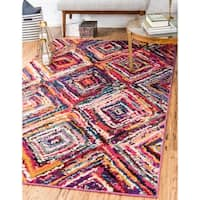 Unique Loom Orleans Barcelona Area Rug - 3' 3 x 5' 3
