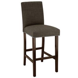 Skyline Furniture Marlow Asphalt Nail-button Barstool