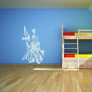 Style and Apply Little Knight Vinyl Wall Art