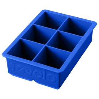 Tovolo King Cube Capri Blue Silicone Ice Tray