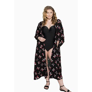 Sealed with a Kiss Women's Plus Size Darla Duster