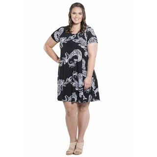 Sealed with a Kiss Women's Plus Size Katrina Swing Dress