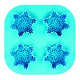 Tovolo Snowflake Blue Silicone Ice Tray