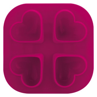 Tovolo Pink Silicone Heart Ice Molds