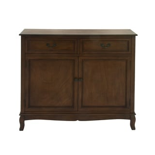 Alluring Natural Brown Wood Sideboard
