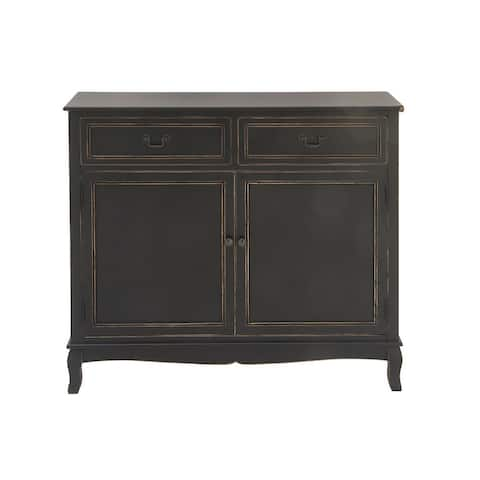 Copper Grove Bee Balm Black Sideboard Chest