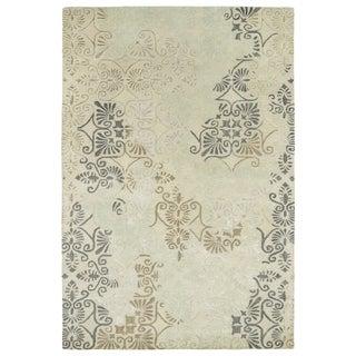 "Hand-Tufted Wool & Viscose Anastasia Beige Rug (3'6"" x 5'6"")"