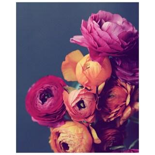 Deep Blooms Canvas Art