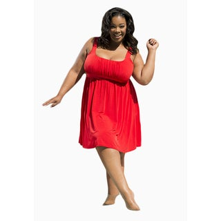Sealed with a Kiss Women's Plus Size Essential Tank Dress