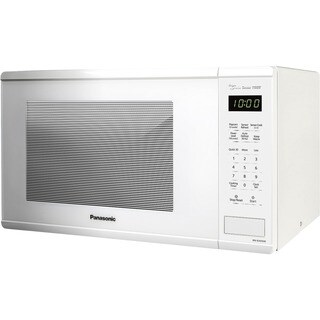 Panasonic Countertop Microwave Oven, White