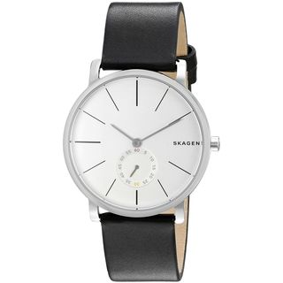 Skagen Women's SKW6274 'Hagen' Black Leather Watch