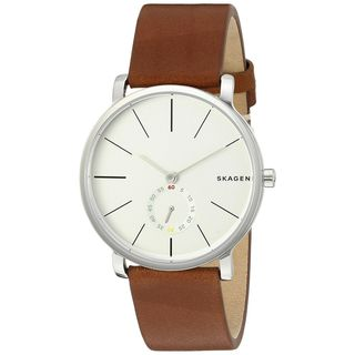 Skagen Women's SKW6273 'Hagen' Brown Leather Watch