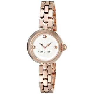 Marc Jacobs Women's MJ3458 'Courtney' Rose-Tone Stainless Steel Watch