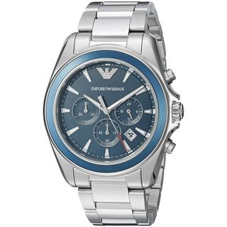 Emporio Armani Men's AR6091 'Sport' Chronograph Stainless Steel Watch