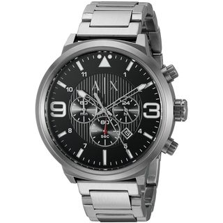 Armani Exchange Men's AX1369 'ATLC' Chronograph Stainless Steel Watch|https://ak1.ostkcdn.com/images/products/11964664/P18849487.jpg?_ostk_perf_=percv&impolicy=medium