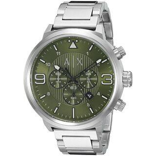 Armani Exchange Men's AX1370 'ATLC' Chronograph Stainless Steel Watch|https://ak1.ostkcdn.com/images/products/11964665/P18849488.jpg?impolicy=medium