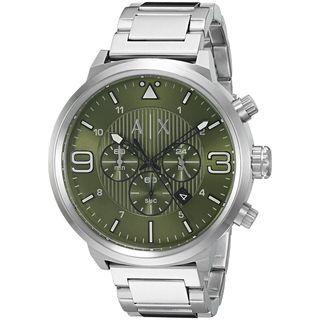 Armani Exchange Men's 'ATLC' Chronograph Stainless Steel Watch