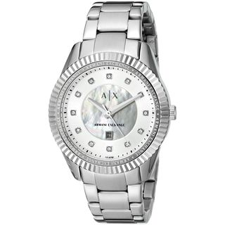 Armani Exchange Women's AX5430 'Dylann' Crystal Stainless Steel Watch
