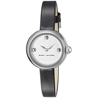 Marc Jacobs Women's MJ1430 'Courtney' Black Leather Watch