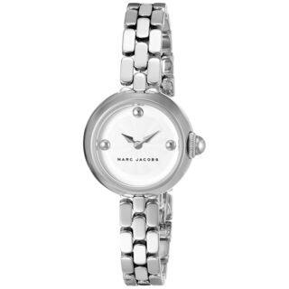 Marc Jacobs Women's MJ3456 'Courtney' Stainless Steel Watch https://ak1.ostkcdn.com/images/products/11964711/P18849530.jpg?impolicy=medium