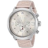 Armani Exchange Men's AX1374 'Street' Chronograph Grey Nylon Watch