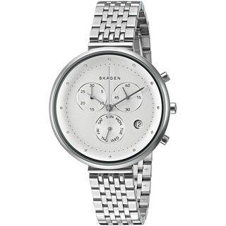 Skagen Women's SKW2419 'Gitte' Chronograph Crystal Stainless Steel Watch