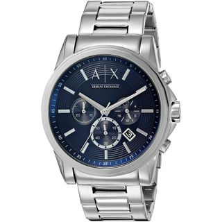 Armani Exchange Men's AX2509 'Smart' Chronograph Stainless Steel Watch