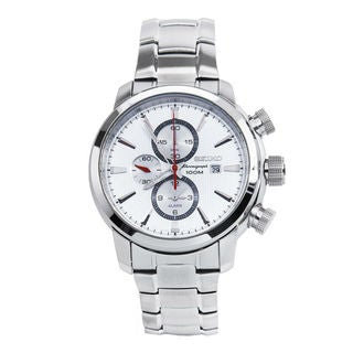 Seiko Men's SNAF43P1 Sports Silver Watch