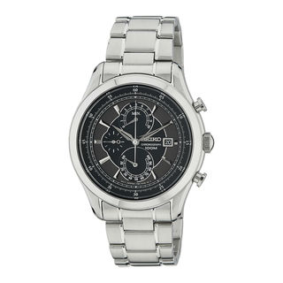 Seiko Men's SPC167P1 Chronograph Black Watch