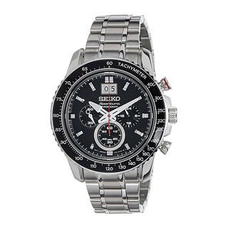 Seiko Men's SPC137P1 Sportura Black Watch