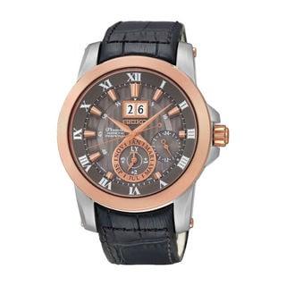 Seiko Men's SNP114P2 Sportura Black Watch